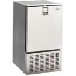 "Icemaker 8 kg / day ""white ice<br/>inox 230V 50Hz with 3 side frame<br/>with freezer compartment"