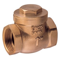Swing check valve metal tightness bronze Art. 1670B