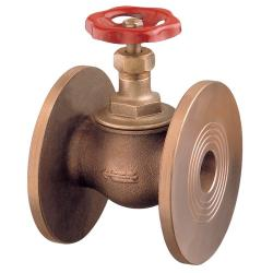 """Globe"" valve metal tightness PN16 bronze Art. 1630A"