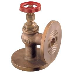 Angle valve metal tightness PN16 bronze Art. 1650