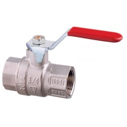 Lever operated ball valve PN25, 32 & 40 brass Art. 1570