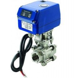 "Valve ball 1-1/4"" motorized 12V<br/>SS316 MV12 series<br/>"