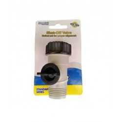 Shut off valve standard series grey