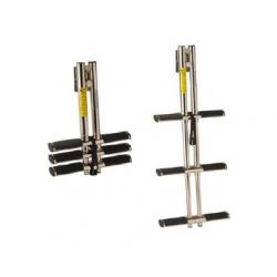 Telescoping SS sport / diver ladder