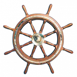 Type 09, 8 spoke teak steering wheel