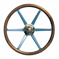 Type 11 steering wheel with aluminium spokes