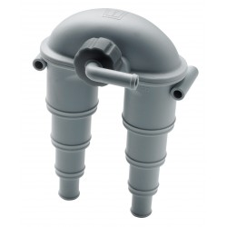 Anti Syphon ASDV 13-32 mm hose<br/>connection with valve<br/>