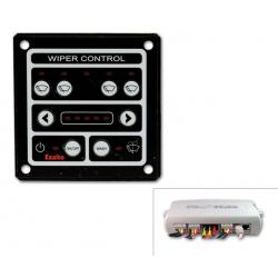 Wiper panel 12/24V for 3 heavy duty<br/>wipers<br/>