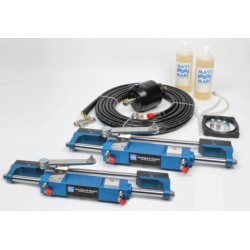 Double cyl. hyd. steering kit for OB engines upto 350Hp