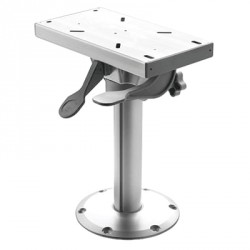 Seat pedestal PCRS38 removable<br/>fixed height 380 mm with slide &<br/>swivel base Dia. 228 mm