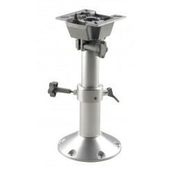 Seat pedestal PCM3547 350-470mm<br/>manual column Dia.73/60mm &<br/>Dia.228mm base with swivel only