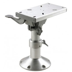 Seat pedestal PCMS3040 300 - 400mm<br/>manual column Dia.87/73mm &<br/>Dia.228mm base with swivel &