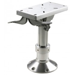 Seat pedestal PCG3547 350-470mm<br/>powermatic column Dia.87/73mm &<br/>Dia.305mm base with swivel &