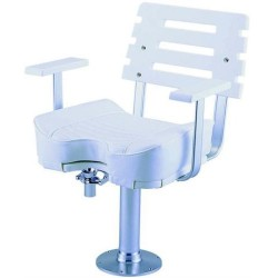 Ultimate sport fishing / helm chair and pedestal