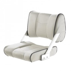 """<span class=""""tooltip"""">Seat helm FERRY CHTBSW moveable<br/>double sided backrest anodized<br/>aluminium hinges & White with blue... <span class=""""tooltiptext""""> Seat helm FERRY CHTBSW moveable double sided backrest anodized aluminium hinges & White with blue seam artificial leather upholstery </span> </span>"""