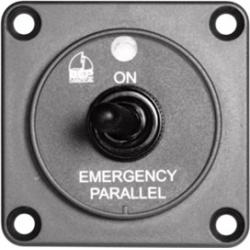 Remote emergency parallel switch