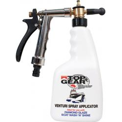 Venturi applicator spray