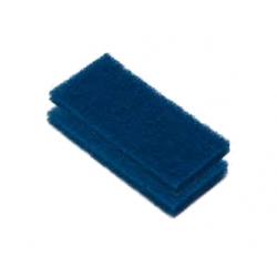 Scrub Pad Blue Medium<br/>10 x 25 x 2.5cm DM251 (10 pc pack)<br/>
