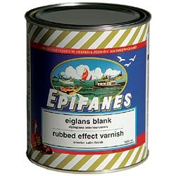 Rubbed effect varnish (one - component)