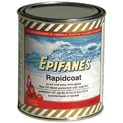 Rapidcoat (one - component) contains UV filter