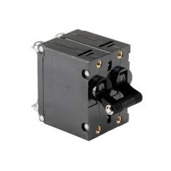 Magnetic double pole ac circuit breakers