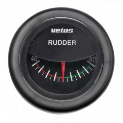Gauge rudder position RPI1800B<br/>black 12/24V cut-out Dia. 52 mm<br/>excluding sensor
