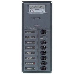 AC main circuit breaker panels (with analog / digital meter)