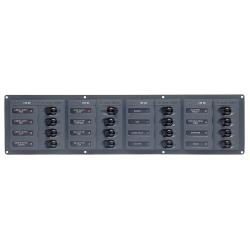 904NMH 12 way dc circuit breaker pa