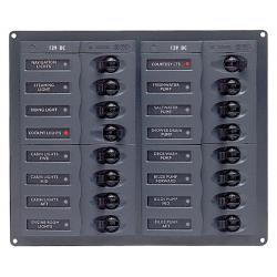 904NM 12 way dc circuit breaker pan