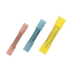 Adhesive lined heat shrink butt connectors