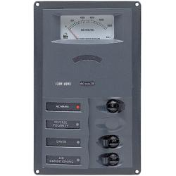 Panel 900-ACM2-AM 230V 1 input+ 2<br/>load vertical mount with<br/>analog meter