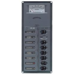 Panel 900-ACM6V-AM 230V 1 input+ 6<br/>load vertical mount with<br/>analog meter