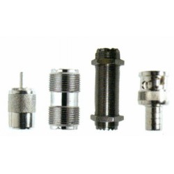 Coax cable fittings