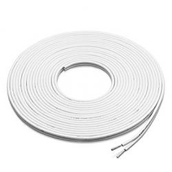 Cable speaker 380ft White 12AWG