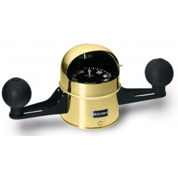 """<span class=""""tooltip"""">Compass D-5-S-X 12V binnacle & yoke<br/>mount 5"""" flat card dial 12V Green<br/>night light with quadrantal... <span class=""""tooltiptext""""> Compass D-5-S-X 12V binnacle & yoke mount 5"""" flat card dial 12V Green night light with quadrantal corrector spheres """"Globemaster series"""" Brass Note: Compasses are standard balanced for Zone 2 </span> </span>"""