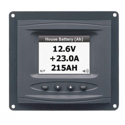 Panel mounted dc systems monitor