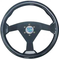 Steering Wheel type84 Dia.350 Black<br/>anodized centre Carbon textured<br/>sport rim