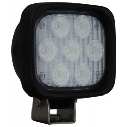 "4"" Aluminium square & round XP LED lights"