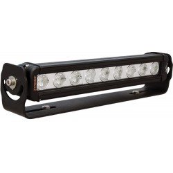 Horizontal adjustable trunnion light bar 9 LED'S