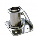 Stanchion Socket, Straight Diameter 25mm