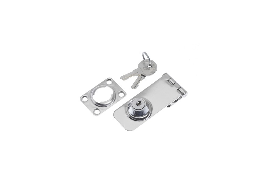 Safety-Hasp with Lock