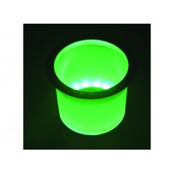 Holder drink Green Led lighted with