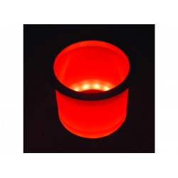 Holder drink Red Led lighted with<br/>SS rim<br/>