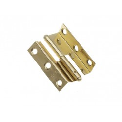 Hinge lift off 55 x 35 mm Brass<br/>right hand polished<br/>