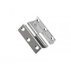 Hinge lift off 55 x 32 mm SS304<br/>right hand electro polished<br/>