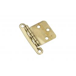 Hinge non mortise 65 x 46 mm Brass<br/>polished<br/>