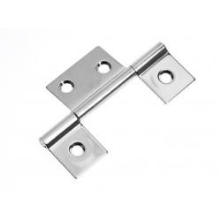 Hinge non mortise 85 x 52 mm SS304<br/>electro polished<br/>