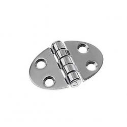 Hinge 35 x 51 mm ellipse centred<br/>SS316 electro polished<br/>