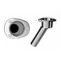 Rod & Cup Holder without Drain (0-30 Degree Rod Angle)