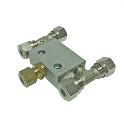 Valve equalising automatic HS65<br/>8 mm connections<br/>